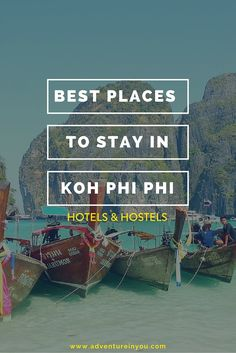 Looking for a place to stay in Koh Phi Phi? Check out our personal recommendations along that would suite every type of travel budget