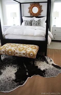 Master bedroom updates: emilyaclark.com