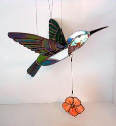 Flying Hummingbird Mobile