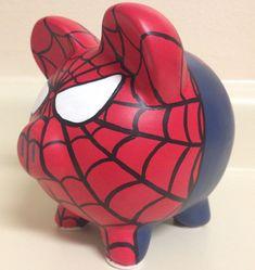 El increíble hombre araña Venom juego de 2 pintado por KaleyCrafts