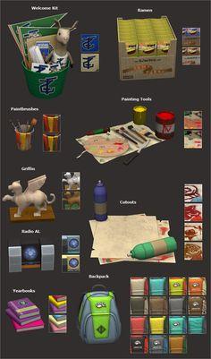 Veranka - University Life items 3t2 conversion