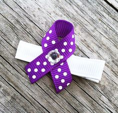 Relay for Life Purple and White Cancer Awareness by leilei1202, $1.50