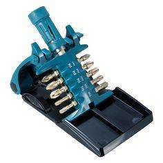 Makita B-30754 Impact Gold Screwdriver Bit Set (11 Piece) with Ultra Mag Torsion Bit Holder