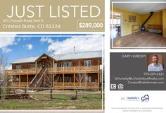 421 Teocalli Road Unit A, Crested Butte, CO 81224 - JUST LISTED | Crested Butte Real Estate Colorado Real Estate, Crested Butte, Gas Stove, Baseboards, Condo, Yard, The Unit, Cabin, Mansions