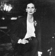 Anne Saint-Marie in Chanel: 1955