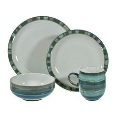 Denby Azure Coast dinner set  sc 1 st  Pinterest & Azure Coast Serving Set | Azure | Pinterest | Dinnerware
