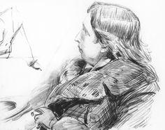 Oscar Wilde ,1888-89 par Sydney Prior Hall