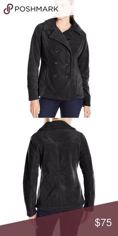 Columbia Benton Springs Pea Coat Black S Columbia Benton Springs Pea Coat Black S  New with tags! Super cute!    828 b14 Columbia Jackets & Coats Pea Coats