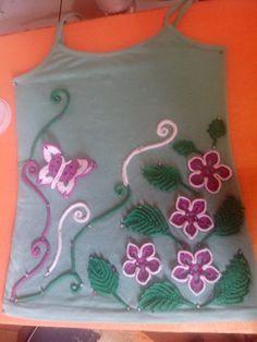 Crochet irlandes