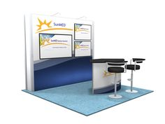 Exhibit design search vk 2044 hybrid booth visionary for Office design 10x10