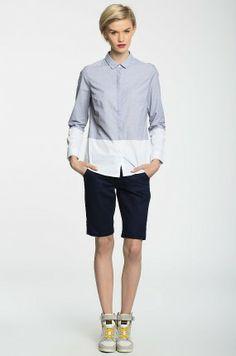 Koszule Z długim rękawem  - Medicine - Koszula Panama