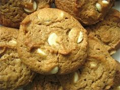 Flourless White Chocolate Peanut Butter Cookies by Healthy Food For Living