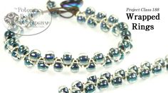 This video tutorial from The Potomac Bead Company teaches you how to make this easy but popular bracelet design, using jump rings, leather, and a variety of . Paper Bead Jewelry, Bead Jewellery, Beaded Jewelry, Jewelry Bracelets, Ring Bracelet, Necklaces, Diy Bracelets How To Make, How To Make Beads, Handmade Bracelets