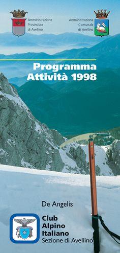 Programma Attività 1998. CAI Club Alpino Italiano
