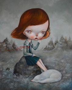 Sleepwalkers dreams by dilka bear, via Behance