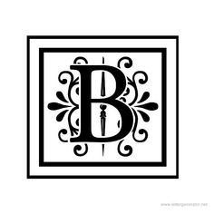 decorative letter b decorative letters alphabet gallery free printable 21329 | fa997ef83d8829d3b28a642c360e9780 monogram wall decals monogram letters