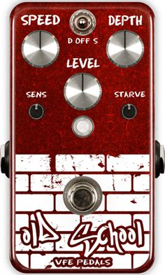 VFE Pedals | Boutique & Custom Effects | Old School tremolo pedal