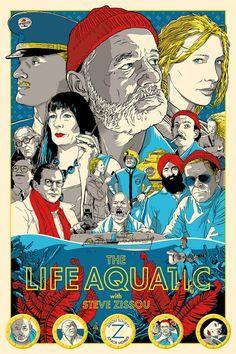 Life Aquatic, Spoke Art