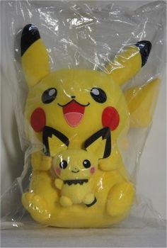 Pokemon Doll Pikachu With Pichu Ichiban Kuji 2013 | eBay
