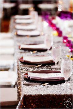 #purple #sparkle #wedding purple wedding Photos by Bray Danielle Photography