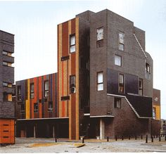 Amsterdam, Netherlands  6 Houses in Borneo Eiland  Miralles Tagliabue EMBT