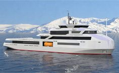 Designed in collaboration with Alessandro Cusumano, the MSS is the latest 65 metre steel and aluminium superyacht concept from Studio Sculli.On board she will accom. Best Yachts, Luxury Yachts, Yacht Design, Boat Design, Yachting Club, Explorer Yacht, Expedition Yachts, Camper Boat, Maui Travel