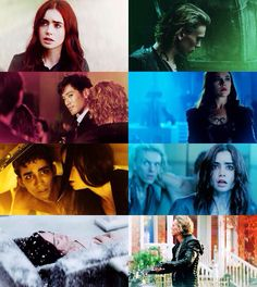 Mortal Instruments City of Bones characters