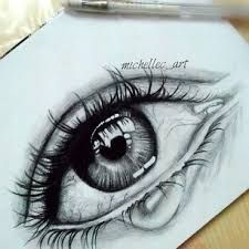 Image result for crying eye drawings