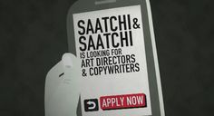 Saatchi & Saatchi is looking for new creative talent with a Mobile App