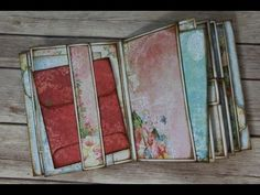 This a tutorial on how to use the Pages for the Stack the Pages Printable Mini Album. I show you many different ways these templates can be used to make a QU. Mini Albums, Mini Photo Albums, Mini Books, Flip Books, Scrap Books, Mini Album Tutorial, Card Sentiments, Mini Scrapbook Albums, Shabby