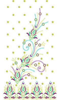 Loving You Bridal Dress Embroidery Design