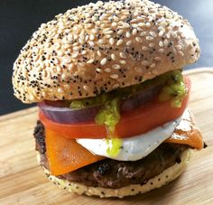 Looks delicious doesn't it? Find Beretta farms at Hero Burger!