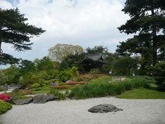 Japanes Landscape in the royal botanical gardens in London