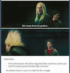 Lucius and Sirius Harry Potter Comics, Harry Potter Marauders, Harry Potter Jokes, Harry Potter Pictures, Harry Potter Fandom, Yer A Wizard Harry, Harry Potter Aesthetic, Harry Potter Universal, Hogwarts