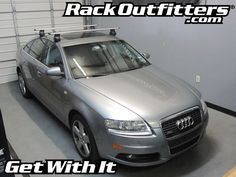 Rack Outfitters - Audi A6 Sedan Thule Rapid Traverse SILVER AeroBlade Roof Rack '05-'11, $381.85 (http://www.rackoutfitters.com/audi-a6-sedan-thule-rapid-traverse-silver-aeroblade-roof-rack-05-11/)