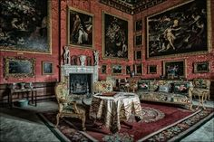 Burghley House - The Third George Room photo credit Keith Lynch