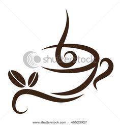 coffee tattoo idea - at the side of the ringer finger