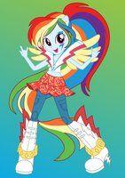 Rainbow Dash by ZoeVulpez