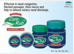 #CareRub #VaporizingRub #Vicks #Rub  To oder now contact us on: +91-278-2567003 E-mail: contact@princecareindia.com