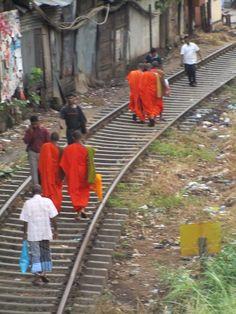Kandy, Sri Lanka. Railway to enlightenment.