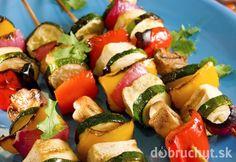 Tofu špíz so zeleninou