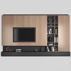 awesome Stylish Tv Wall Unit Ideas For Stunning Living Room Design Living Room Wall Units, Living Room Tv Unit Designs, Design Living Room, Living Room Cabinets, Kitchen Living, Design Bedroom, Kitchen Decor, Modern Tv Cabinet, Modern Tv Wall Units