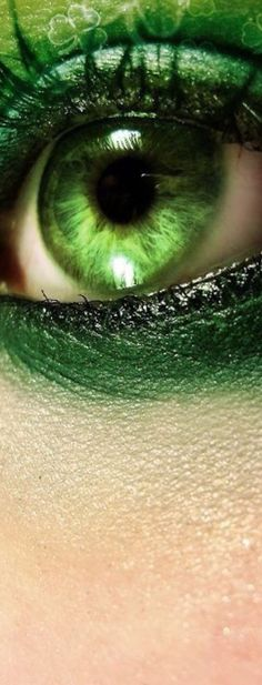 Eye shadow green shades 31 ideas for 2019 Go Green, Green Eyes, Green Colors, World Of Color, Color Of Life, Photo Oeil, Green Fashion, Beautiful Eyes, Beautiful Women