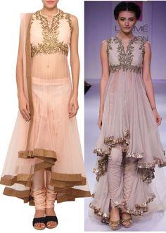 Rose pink sheer salwar suit with dupatta only on Kalki Salwar Suits, Salwar Kameez, Indian Dresses, Indian Outfits, Party Wear Dresses, Wedding Dresses, Indian Wear, Pink Roses, Girls Dresses