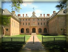 Living In Williamsburg, Virginia: The Sir Christopher Wren Building at The College of William and Mary, Williamsburg, Virginia