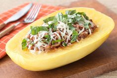 Hungry Girl's Healthy Lasagna-Stuffed Squash Recipe - 3 sp / 1/4 of recipe
