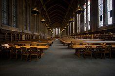 University of Washington Suzzallo Library reading room