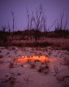 Jung Lee, South Korean Photographer captures neon thoughts in barren landscapes to convey limitations in language