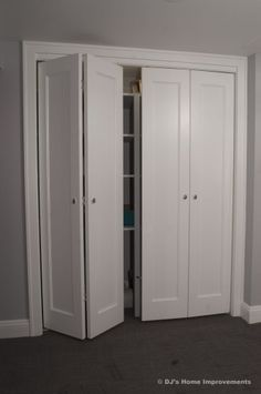 Bifold Closet Doors This Is What I Want For Our Laundry Room