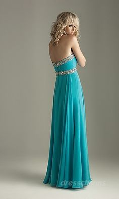 Turquoise dress. So pretty